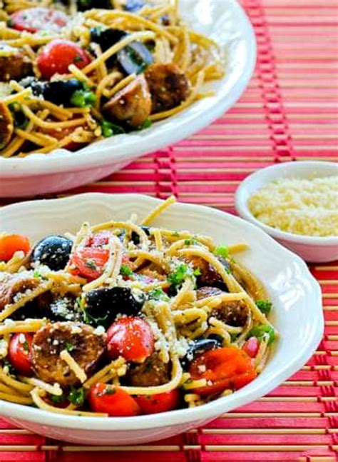 Todays Special Pasta With Sausage Basil And Mustard by Whole Wheat Spaghetti Salad With Italian Sausage Tomatoes