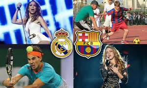 detiksport barcelona vs real madrid real madrid vs barcelona celebrity fans justin bieber