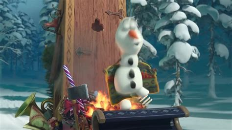olaf from frozen the movie frozen fans teased by mini movie trailer ahead of new