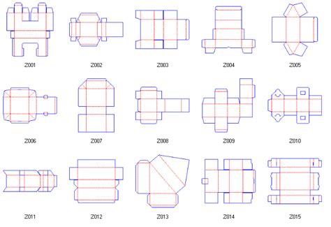 corrugated box template box structure design corrugated and folding box