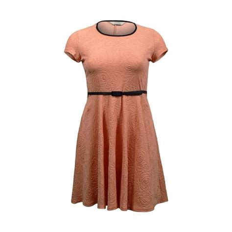 Robe Patineuse Grande Taille - robe patineuse gaufr 233 e orange grande taille du 44 au 54