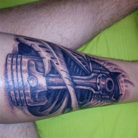 motorcycle piston tattoos www pixshark com images