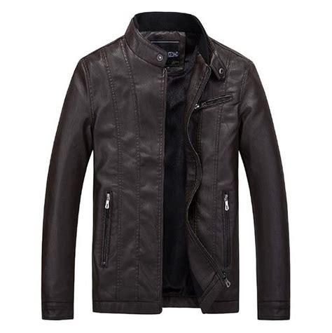 Motorcycle Jacket Design Online | 2016 new men s fashion casual men s leather jacket coat