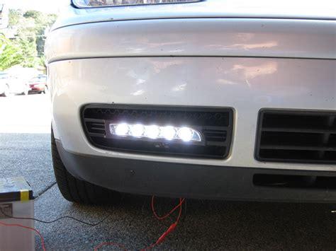 Drl Light Vw by Depo 99 04 Vw Golf Gti 4 Porsche Style Led Daytime Running