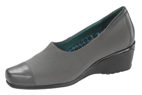 andrea comfort aetrex andrea comfort slip on grey orthotic shop