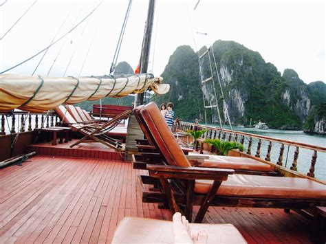 houseboat vietnam houseboat in halong bay vietnam bjorn from basedthere