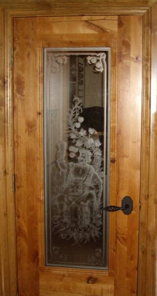 Etching Glass Designs For Kitchen - custom wine cellar doors for residential wine cellars