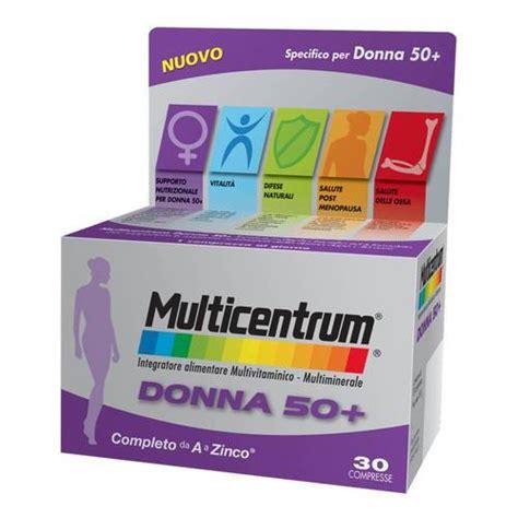 integratore alimentare multivitaminico multicentrum integratore alimentare multivitaminico donna