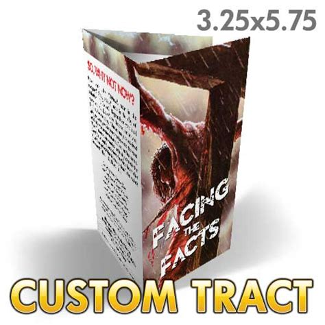 facing the facts gods custom tract facing the facts