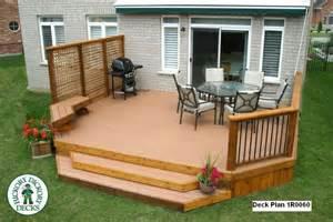 design a deck large diy deck plans