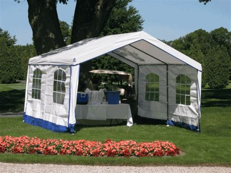 rhino shelter decorative backyard tent with side