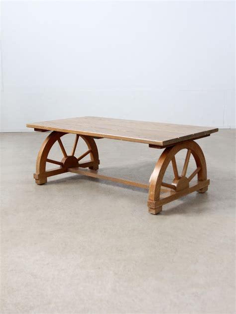 wagon wheel coffee table best 25 wagon wheel table ideas on wagon