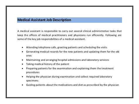 how to write a resume for a medical assistant job 10 steps