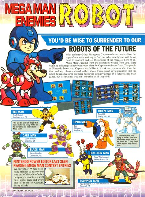 Nintendo Power Simon S Quest Guide Castlevania Wiki image nintendo power robot masters page 1 jpg mmkb