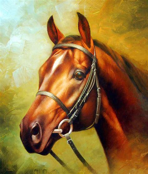artes visuales imagenes no realistas pinturas cuadros lienzos caballo pintura 211 leo de