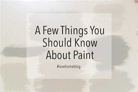 A Few Things You Should Know About Colors Before Painting | a few things you should know about paint jo chrobak