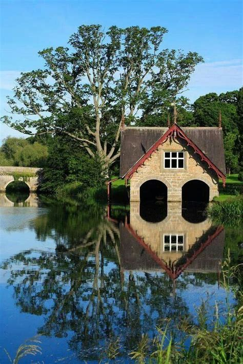 house boat ireland boat house on river rye co kildare ireland ireland of