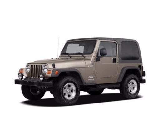 2005 Jeep Wrangler X Specs 2005 Jeep Wrangler Se 2dr 4 215 4 Jeep Specs