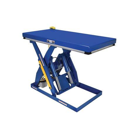 vestil 4 000 lb 30 in x 60 in electric hydraulic