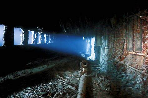 Titanic Wreck Interior by Corridor Inside The Wreck Of The Titanic Submechanophobia