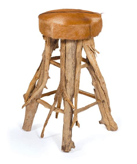 Western Bar Stools cowboy western cabin rustic hair on hide bar stool kathy