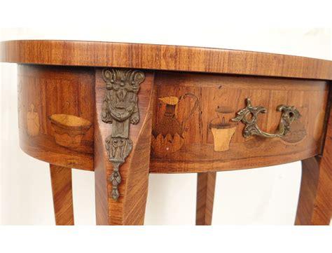 table de nuit chinoise table chevet marqueterie bois dcor