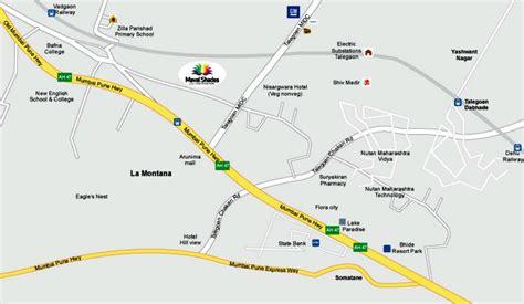 Bedroom Floor Plans Location Map Mega Developers Maval Shades At Vadgaon