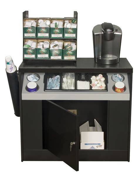 coffee cabinet for office office coffee stands all state manufacturing