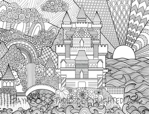 japanese castle coloring page 362 best architecture coloring pages for adults images on