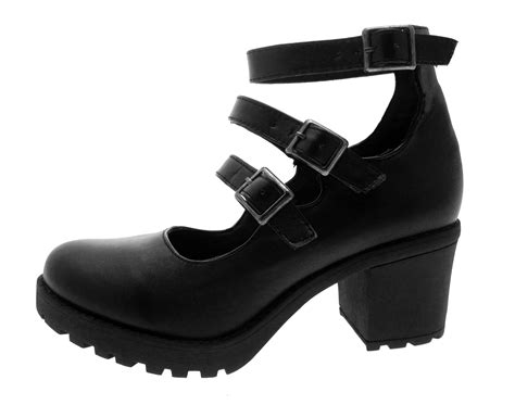 shoes size 12 5 block heel platforms school smart