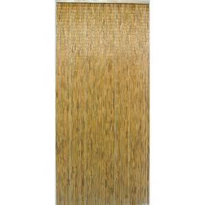 rideau de porte bambou naturel 90 x 200 cm rideau de