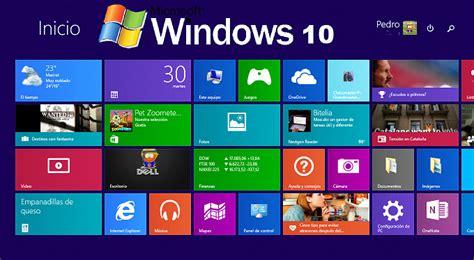 imagenes del sistema operativo windows 10 windows 10 el nuevo sistema operativo ser 193 gratuito