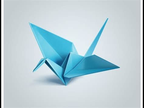 Origami Bird - origami flying bird motion easy steps