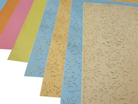 Patterned Craft Paper Uk - sting patterned papers 8 sheets craft factory