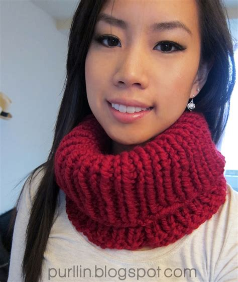 free knitting patterns neck warmers cowls purllin knit cowl neck warmer free knitting pattern