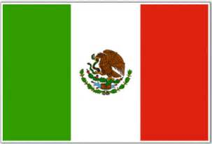 mexico flag colors mexican flag