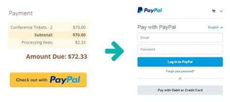 Create Secure Payment Forms With Cognito Forms Paypal Paypal Payment Template