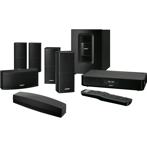Home Theater System by Bose Soundtouch 520 Home Theater System Black 738377