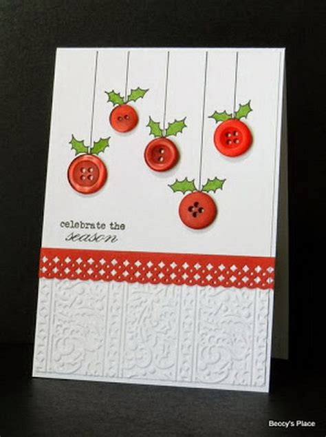 diy christmas cards ideas tutorials noted list