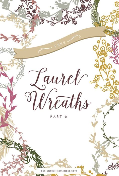 Wedding Fonts And Graphics by Laurel Wreath Graphics Part 2 Designs By Miss Mandee