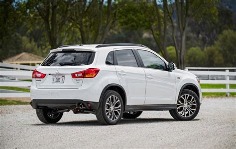mitsubishi asx 2016 2016 mitsubishi asx revealed in us spec outlander sport
