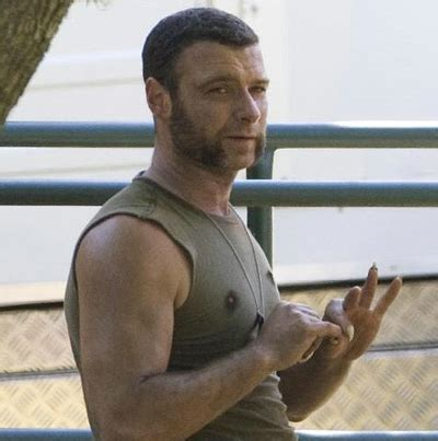 actor who played wolverine s brother first look liev schreiber as sabretooth in wolverine