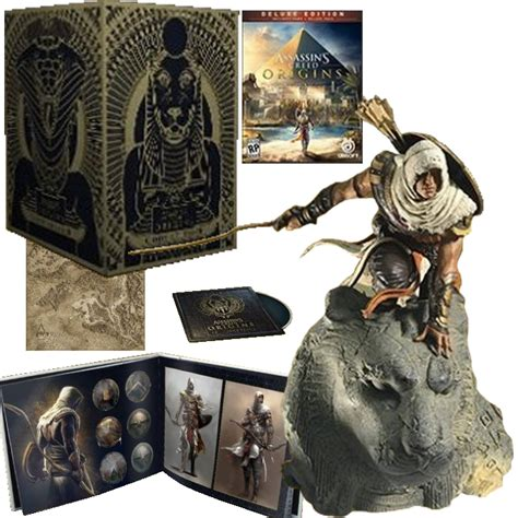 assassins creed origins collectors chocobonplan com communaut 233 bons plans jeux vid 233 o pas chers