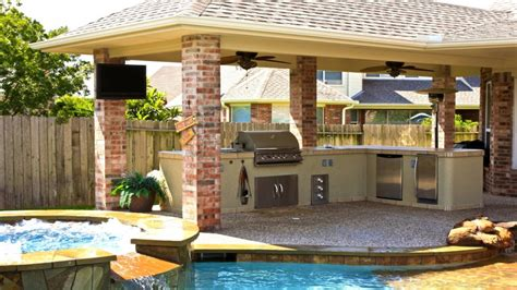 grill outdoor outdoor kitchen roof design ideas rustic