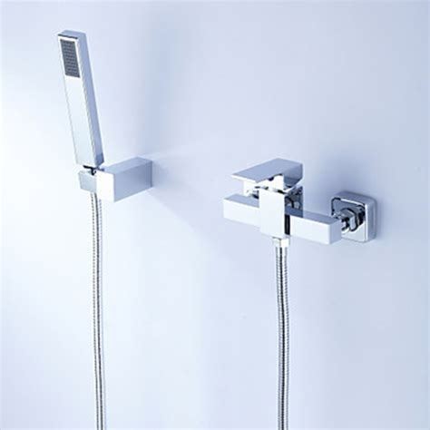 hand held shower for bathtub faucet contemporary tub shower faucet with hand shower