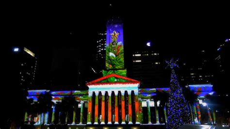 brisbane city hall christmas light spectacular 20141212