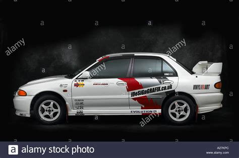 mitsubishi lancer evo 3 1995 mitsubishi lancer evo 3 stock photo royalty free