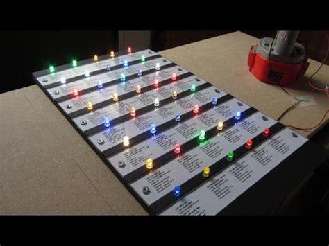 diy led video light how to make a board for color led lights 5mm diy stuff 12v