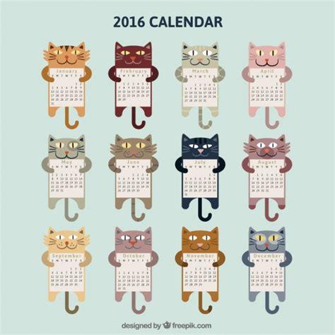 printable kitten calendar 20 free printable calendars 2016 jaderbomb