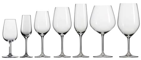 types of barware different types of wine glasses bestwineglass